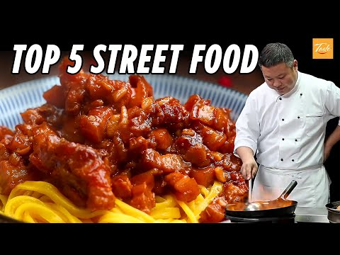 Top 5 Street Food | Recipes by Chinese Masterchef | ASMR Cooking • Taste Show