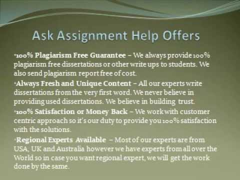 Dissertation Writing Services From US Experts