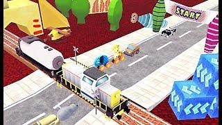 Railway Fun Traffic Kids Toys - Game Palang Perlintasan Kereta - Game Anak