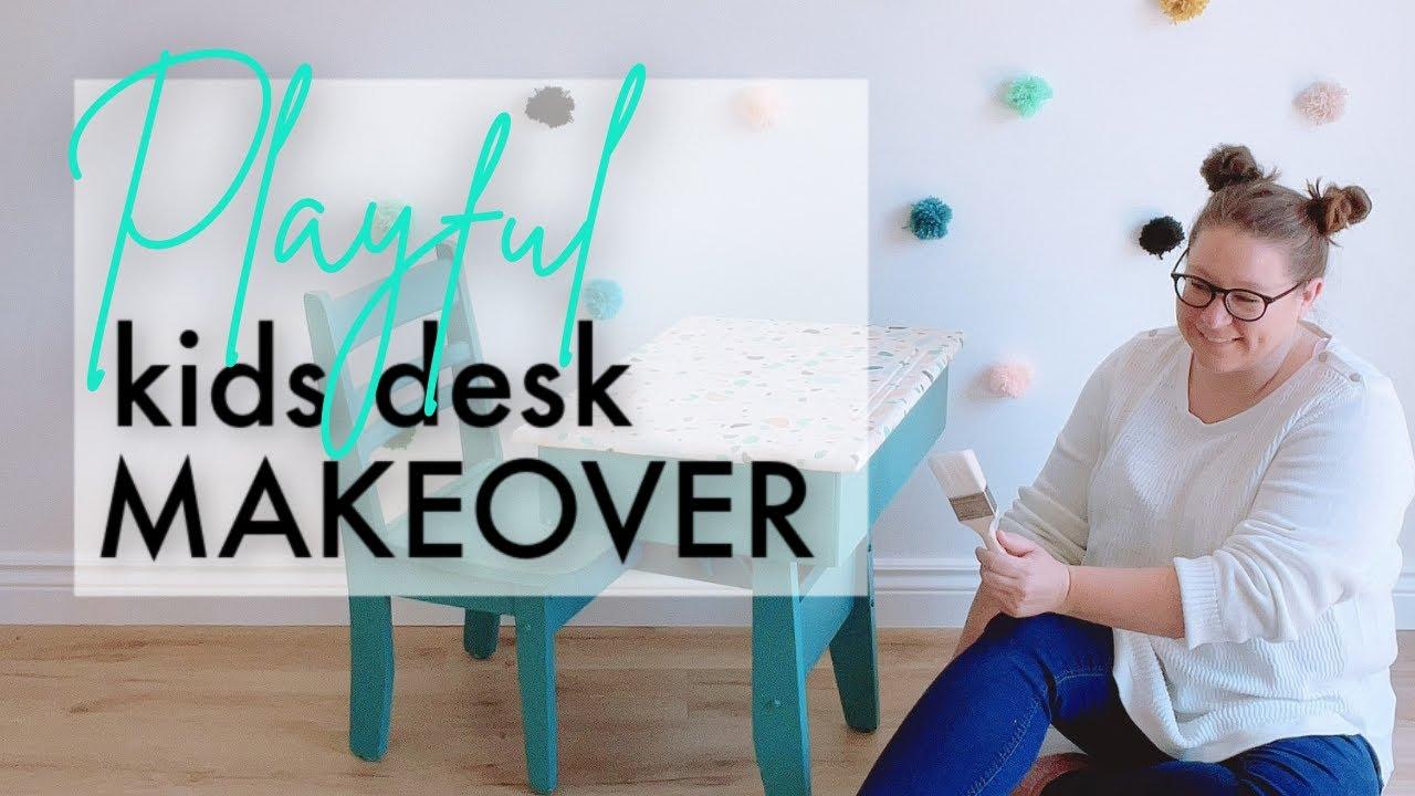 Playful Kids Desk Makeover   Big Business Announcement