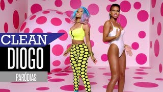 Nicki Minaj, Cassie - The Boys (Paródia/Redublagem) [Clean Version]