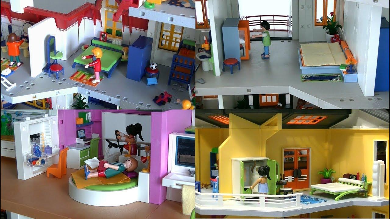 evolution playmobil fr la chambre parentale moderne 2000 2017