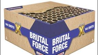Lesli vuurwerk Brutal force 144 shots