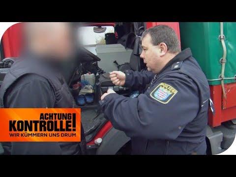 3 Gehälter Geldstrafe - Warum die hohe Strafe für den LKW-Fahrer? | Achtung Kontrolle | kabel eins