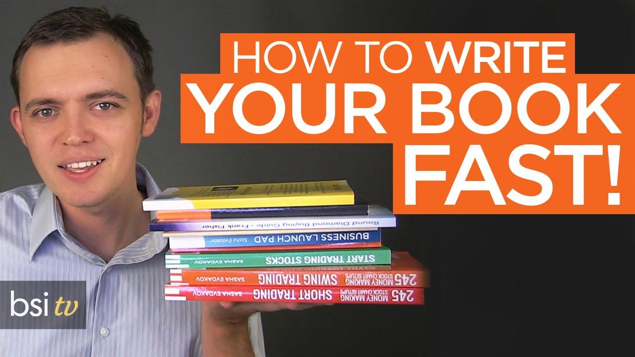 How to Write Your eBook or Book SUPER Fast!