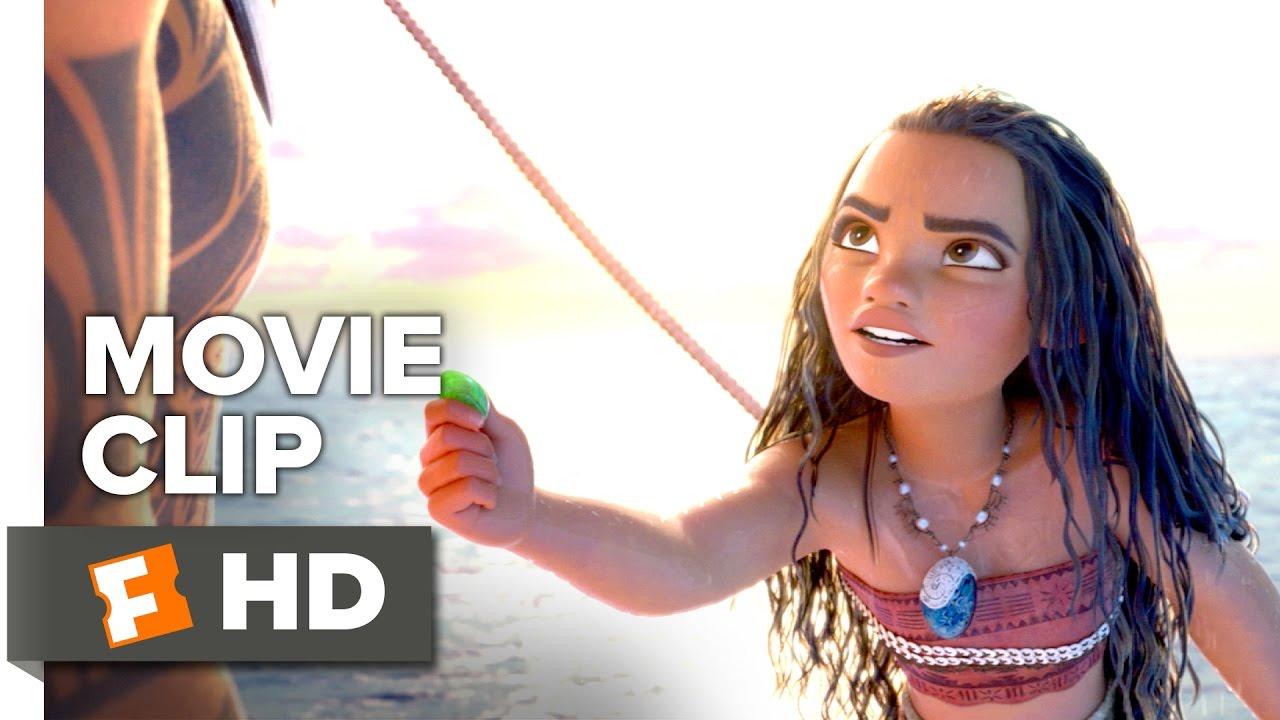 Moana Movie CLIP – Ocean Insists (2016) – Dwayne Johnson Movie