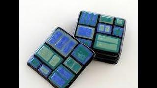 Fusão de vidro em microondas - Fusing Glass