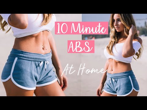 10 Min ABS Workout | Flat Stomach Exercise