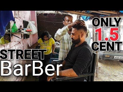 Asmr Street barber head massage and neck cracking.