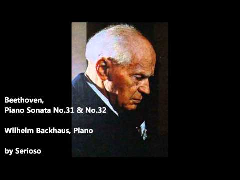beethoven,piano sonata no 31,32, backhaus