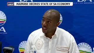 Jacob Zuma must face prosecution- Maimane