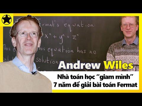 """Andrew Wiles - Nhà Toán Học """"Giam Mình"""" 7 Năm Để Giải Bài Toán Fermat"""