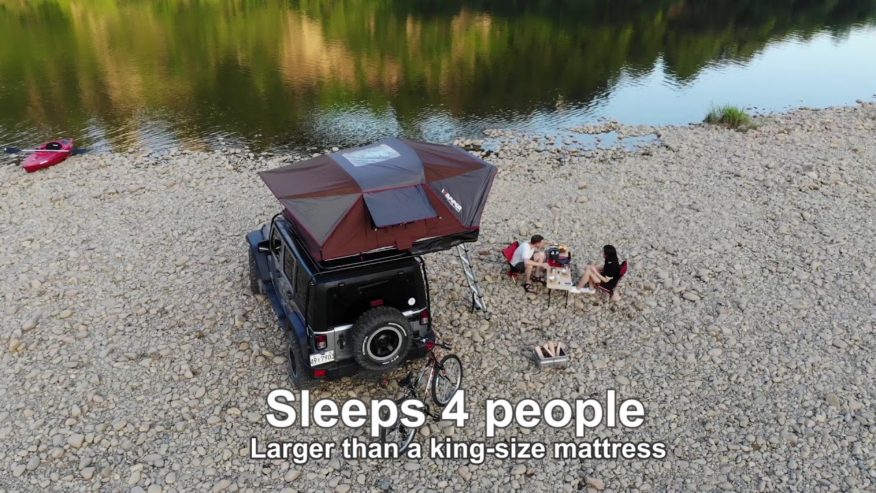 iKamper X-Cover Rooftop Tent   HiConsumption