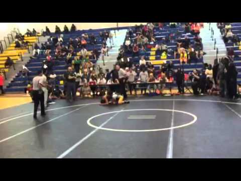 Miami Jackson Senior High School Wrestling State Match: Doris Rodriguez vs Liberty