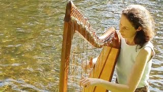 Celtic Harp Solo – A Trip to the Islands (Keltische Harfe) // Nadia Birkenstock