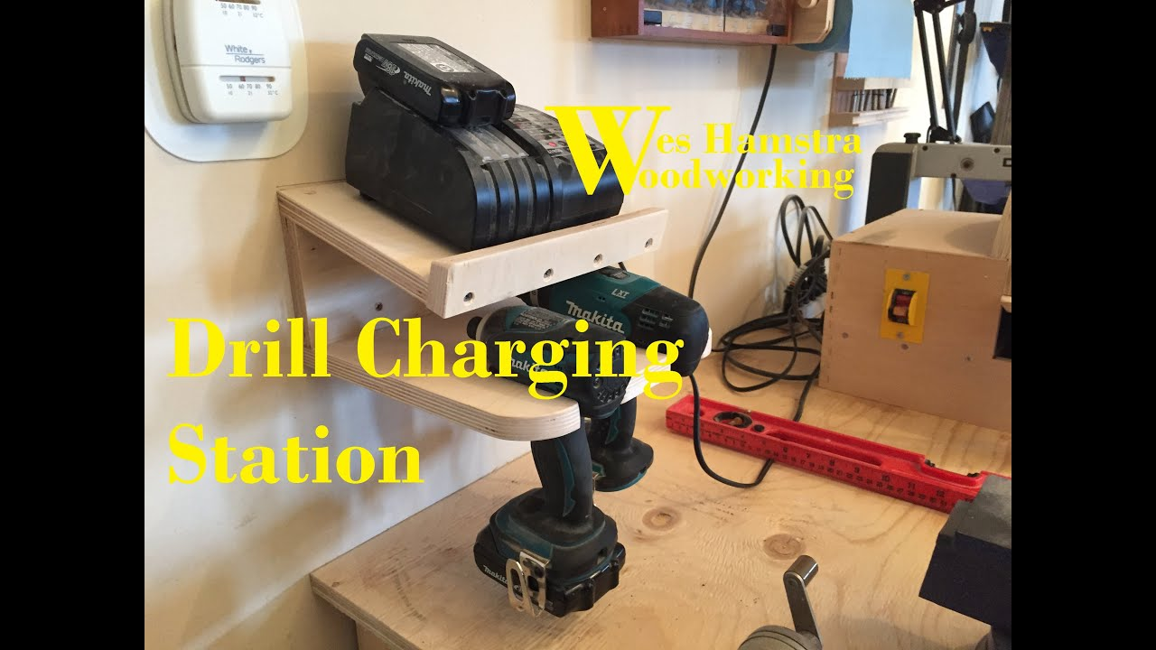 WHW - Cordless Drill Charging Station EP3 - YouTube