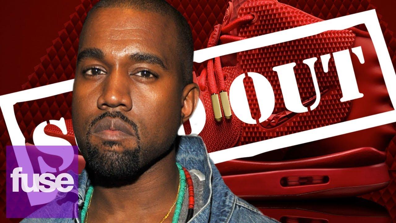 Kanye Octubres West 'S Nike Rojo Octubres Kanye Vender En 11 Minutos Youtube ead5bc