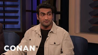 Kumail Nanjiani Was Tempted To Cancel His CONAN Appearance - CONAN on TBS