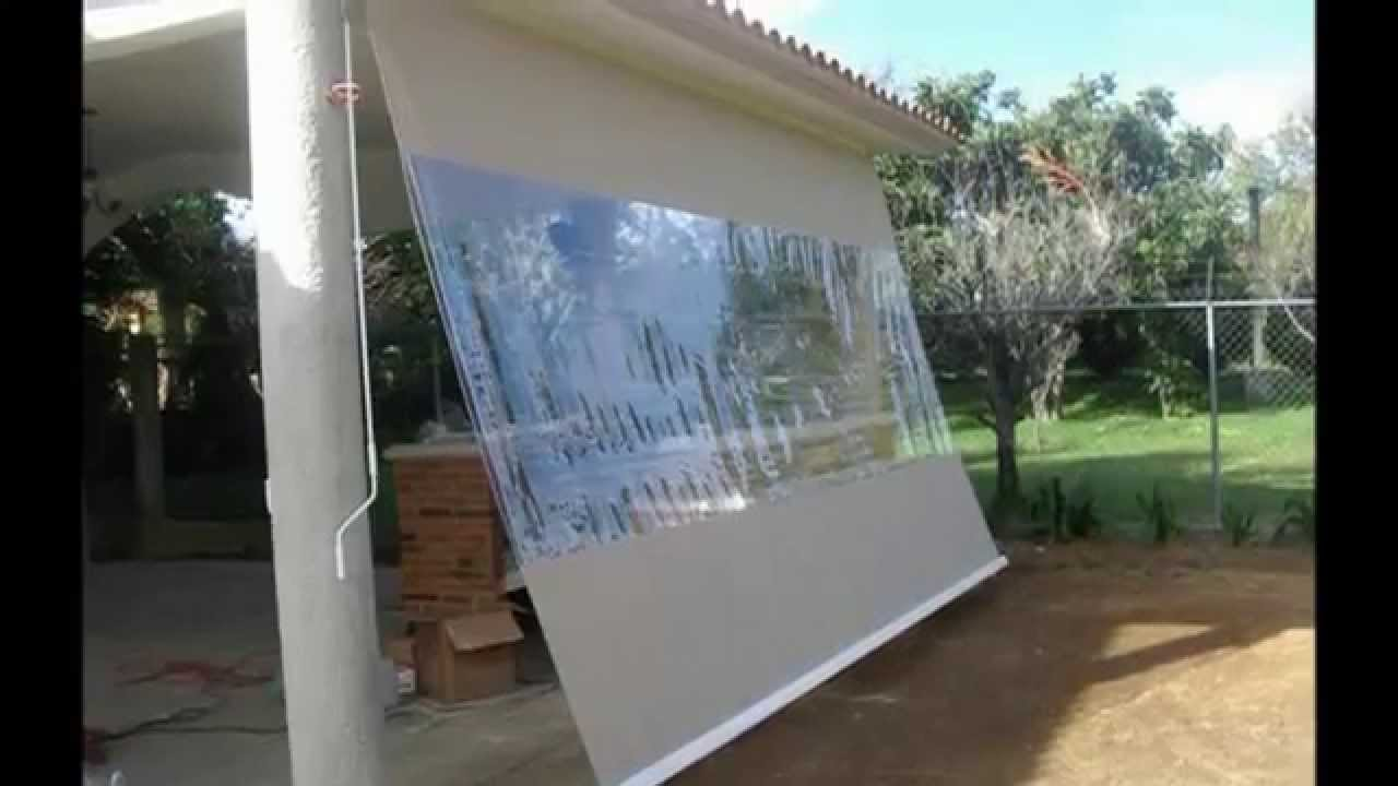 Cortinas para sol youtube youtube for Cortinas terrazas exteriores