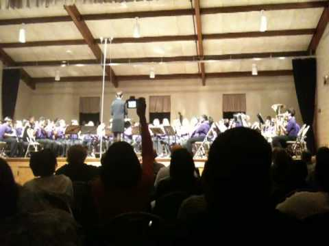 Chapel Hill Middle School 6th Grade Band Festival -  Cango Caves