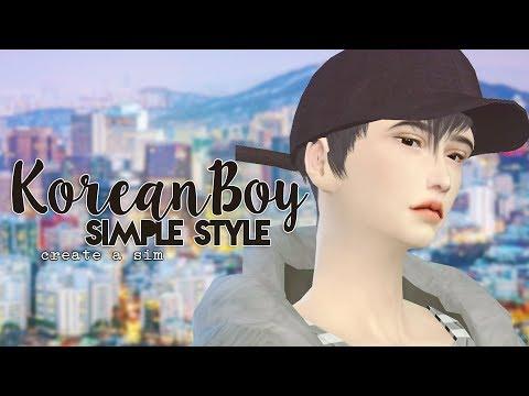 Create a Sim: Korean Boy Simple Style   The Sims 4   Nyu♥