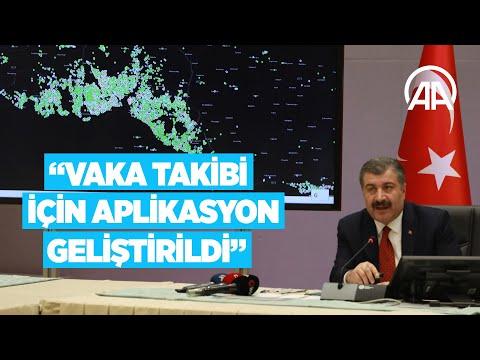Sağlık Bakanı Koca açıklama yapıyor