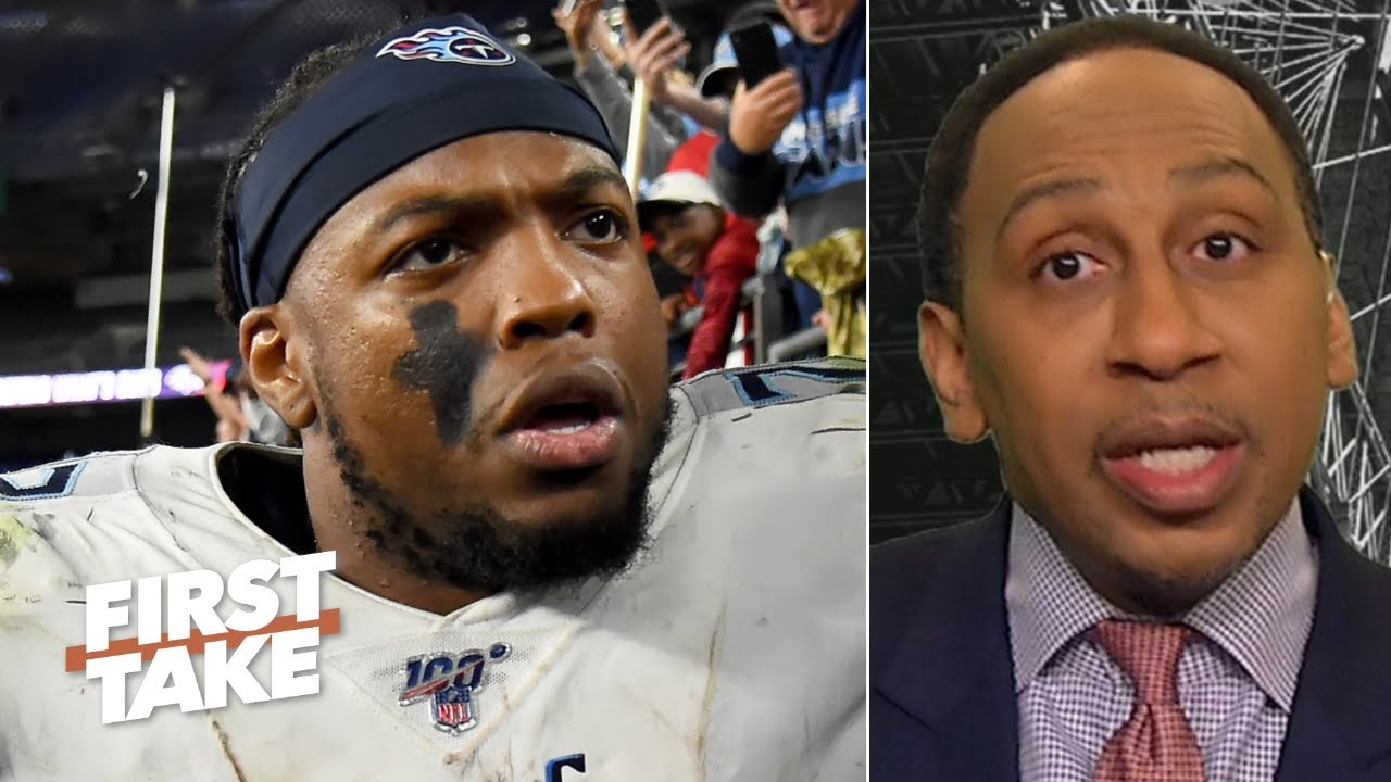 Derrick Henry is the Titans' only hope vs. the Chiefs - Stephen A.   First Take