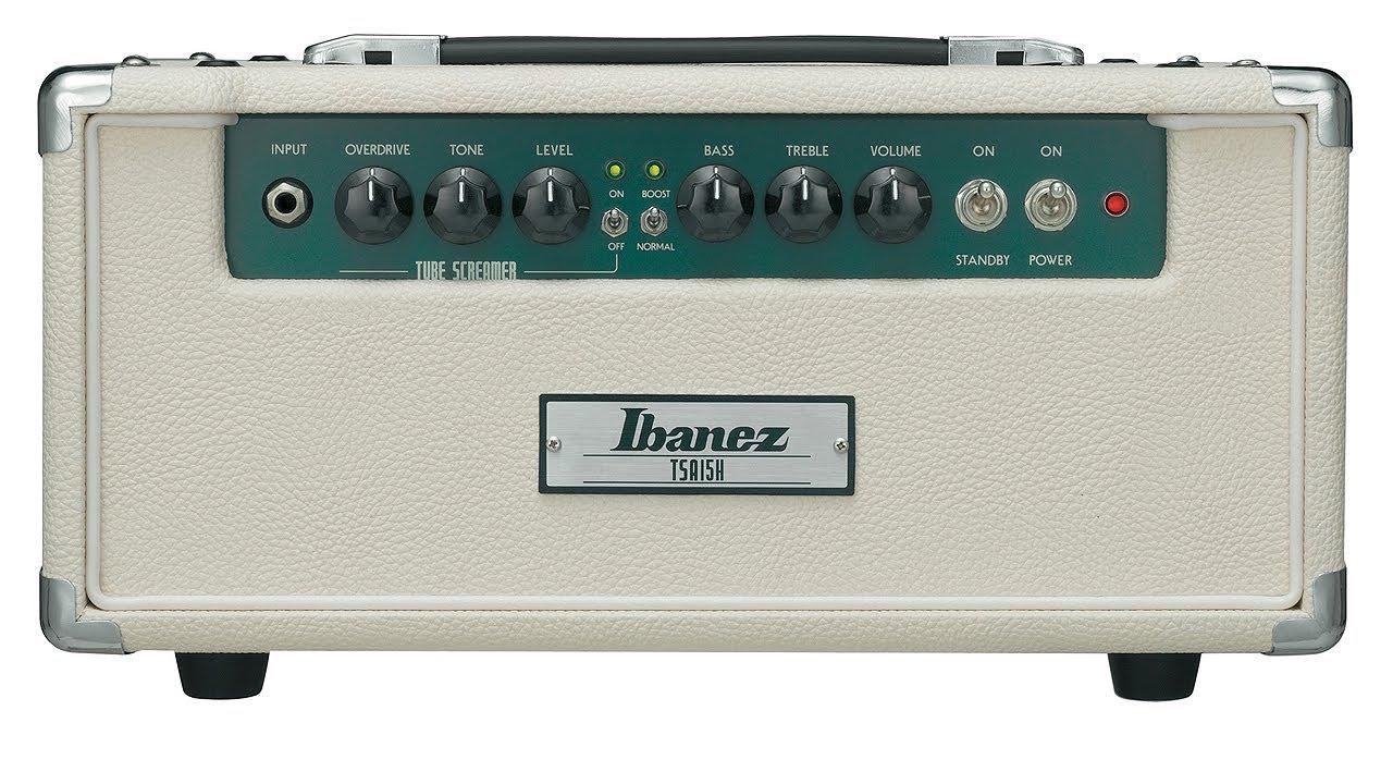 Ibanez Tsa15h Tube Screamer Amp Demo Review