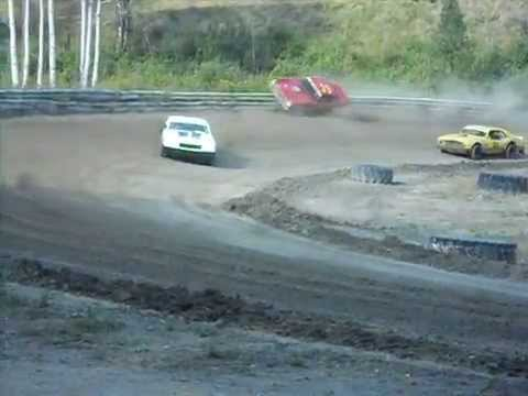 Stock cars racing Northport Raceway
