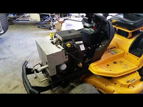 cub cadet gt2550 kohler command ch670 22hp engine. Black Bedroom Furniture Sets. Home Design Ideas