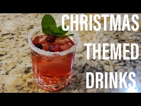 3 EASY To Make Alcoholic Christmas Drinks *NEW* | J & J's Special Holiday Drinks