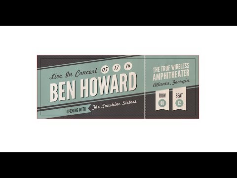 How To Create A Custom Concert Ticket In Adobe Illustrator  Concert Ticket Design