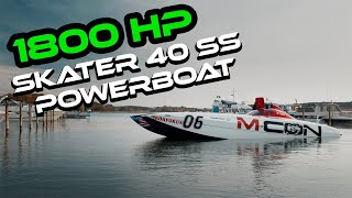 M-CON Sickest Powerboat in Finland (Suomen härskein Muskelivene) I Riding with Uskali I Episode 3