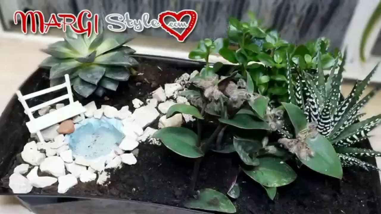 Fai fa te giardino in miniatura youtube for Fai da te creazioni