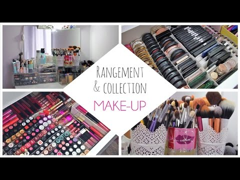 Mon rangement et ma collection make-up 2014 / Makeup Collection & Storage 2014