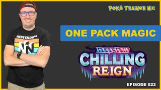 Pokémon Sword & Shield Chilling Reign One Pack Magic or Not, Episode 22 #Shorts