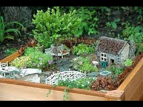Como hacer jardin en miniatura youtube for Jardines japoneses en miniatura