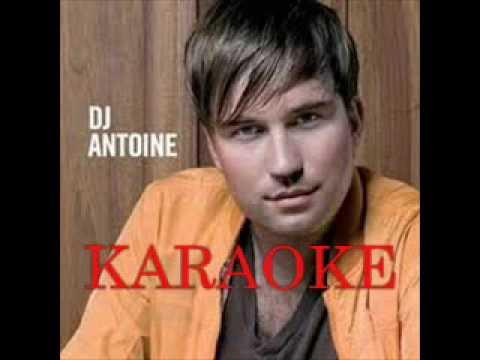 Dj Antoine - Ma Cherie- KARAOKE, INSTRUMENTAL version