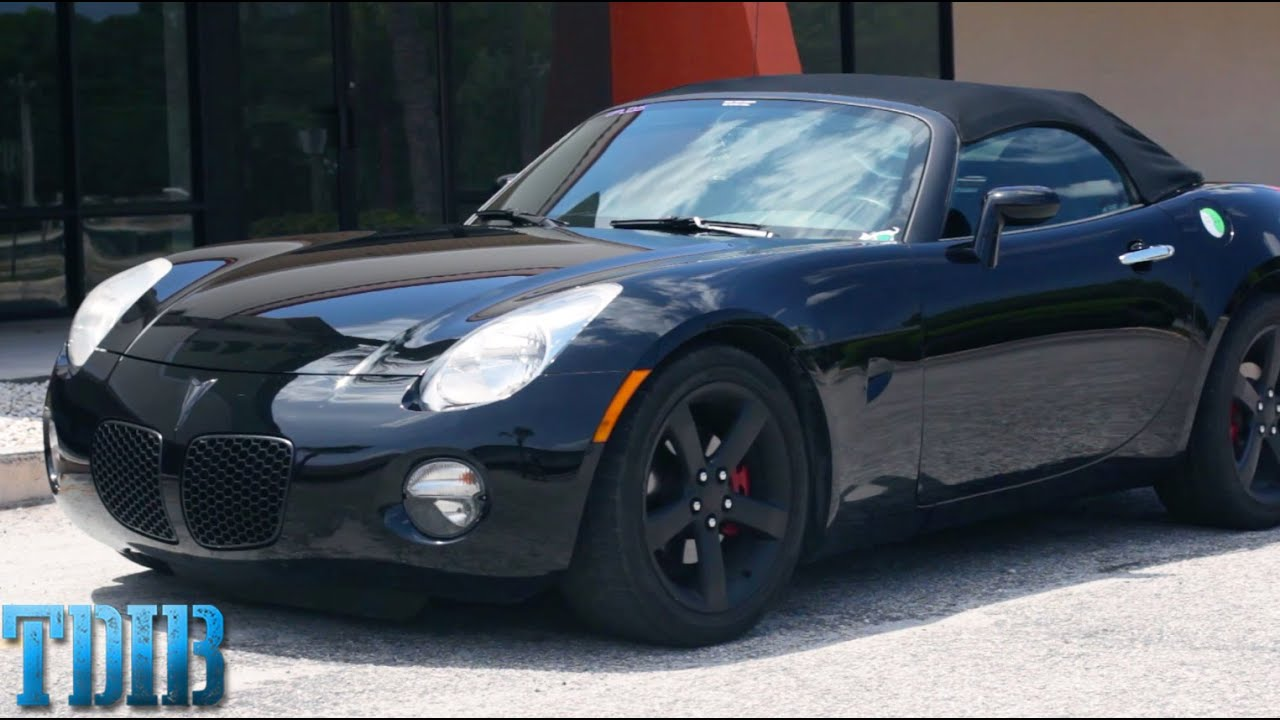 Pontiac Solstice Review An American Relic Roadster