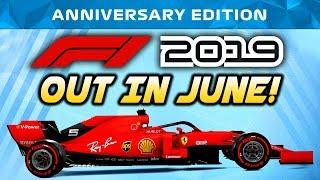 F1 2019 Game REVEALED!!! | June Release Date, 2019 Spec Car, Customization & More