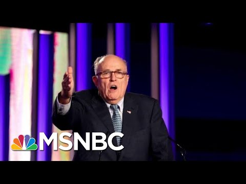 What Is Rudy Giuliani's Strategy For Defending President Donald Trump? | Morning Joe | MSNBC