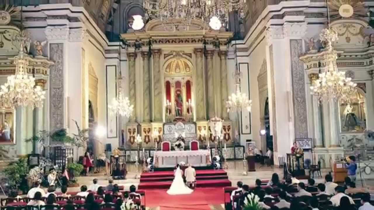It S More Fun In The Philippines Wedding San Agustin Church Intramuros Manila You