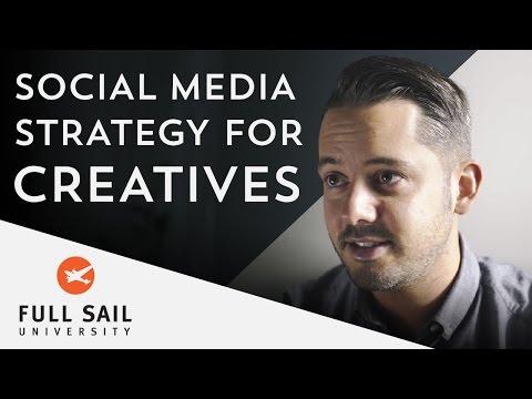 Social Media Strategy For Creatives | Full Sail University