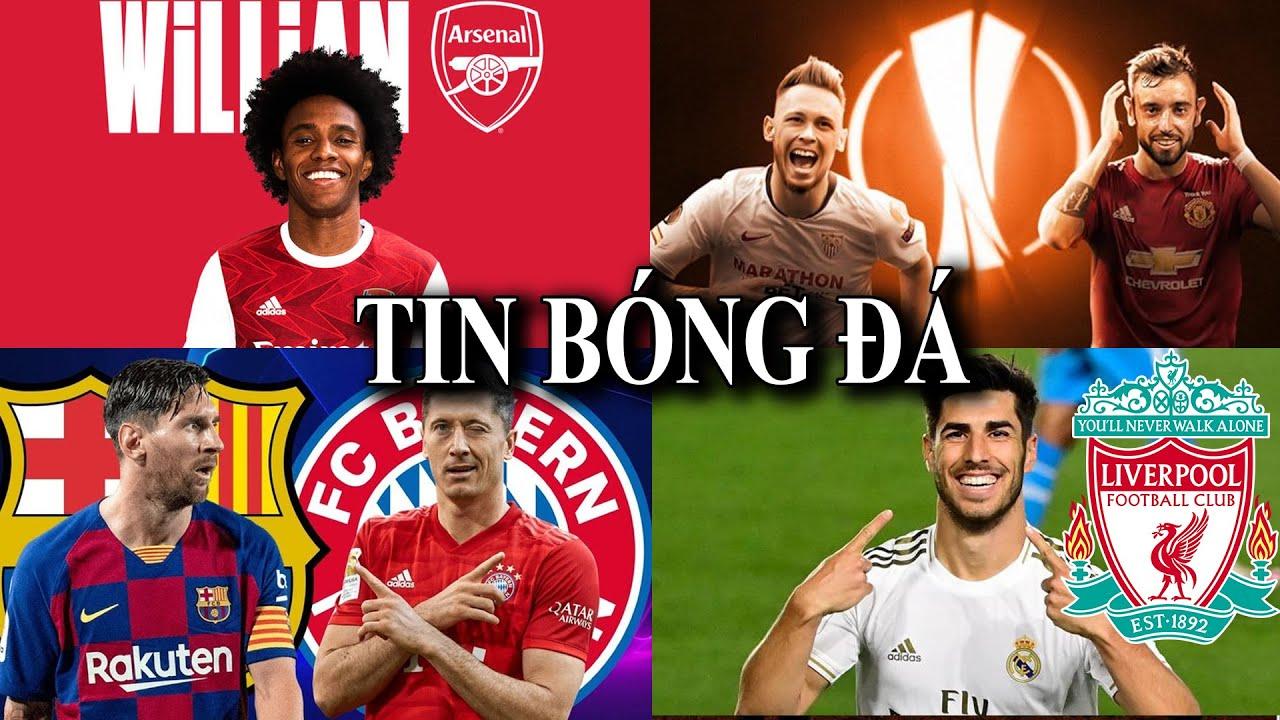 TIN BÓNG ĐÁ - CHUYỂN NHƯỢNG 2020 - 14/08 : 3 sao chờ báo thù MU,Willian đến Arsenal,Barca đấu Bayern