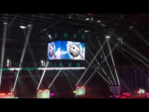 PALAMI Media Cube in Arena Riga, Latvia