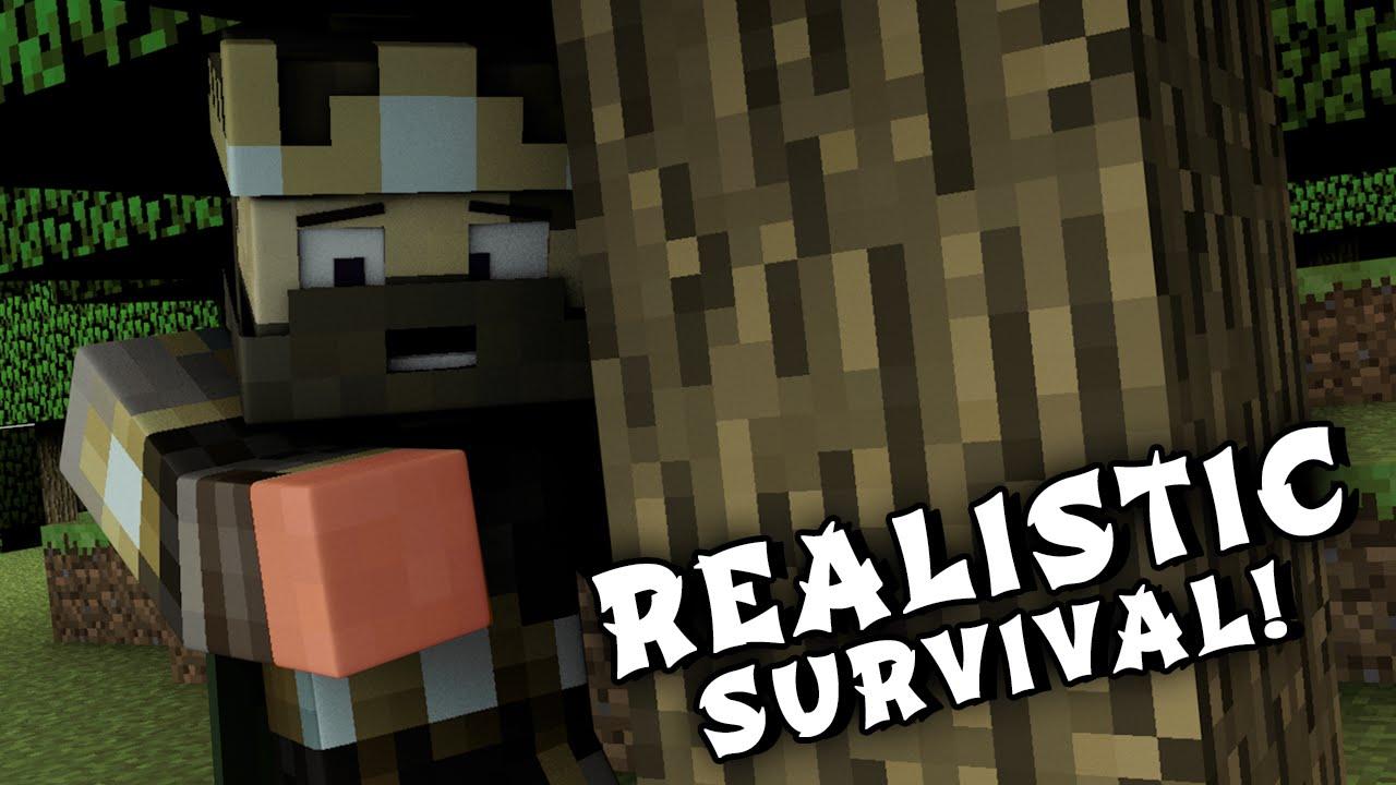 Minecraft Mods REALISTIC SURVIVAL MOD (Minecraft Realism Mod