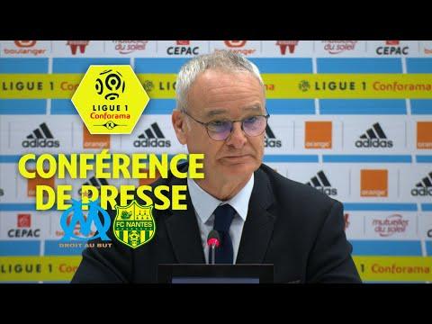 Conférence de presse Olympique de Marseille - FC Nantes (1-1) / 2017-18