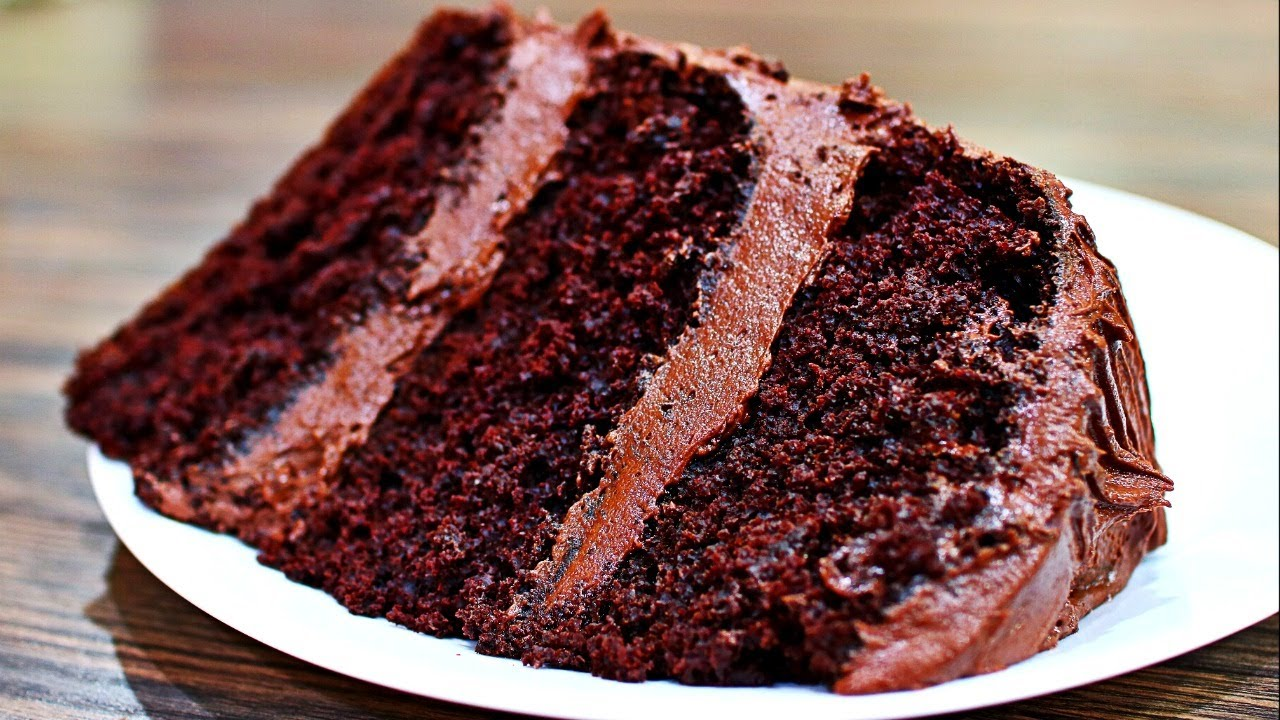 Cake Recipes In Otg Youtube: Rich And Moist Chocolate Cake Recipe