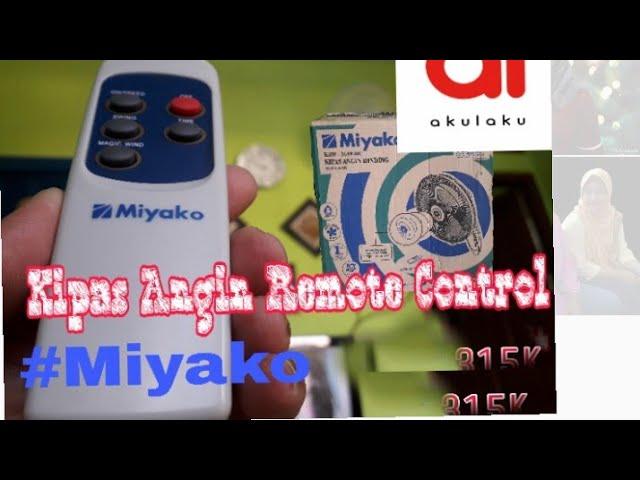 Bukabox - Kipas Angin Remote Control (MIYAKO KAW-169RC)