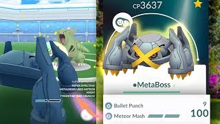 METEOR MASH METAGROSS!! IS IT WORTH POWERING UP in Pokemon GO?!